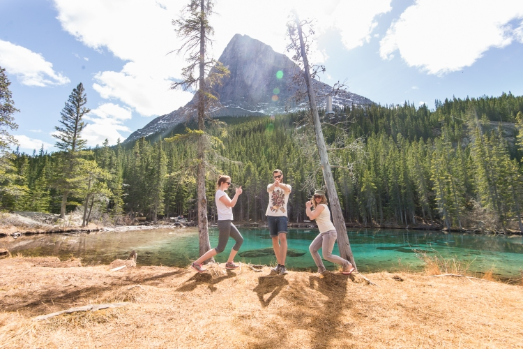 Grassi Lakes, Canmore